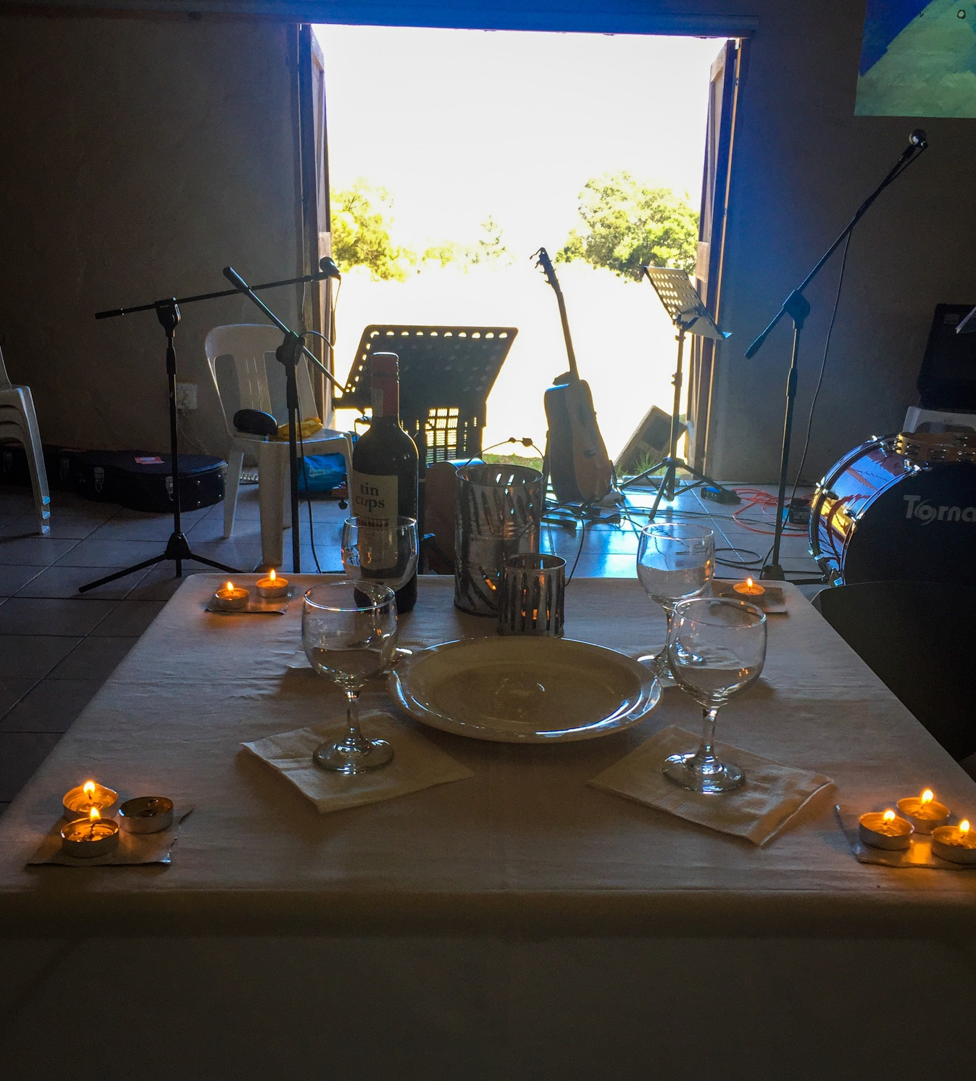 12 Candles, Bread and Wine