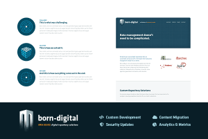 born-digital Branding