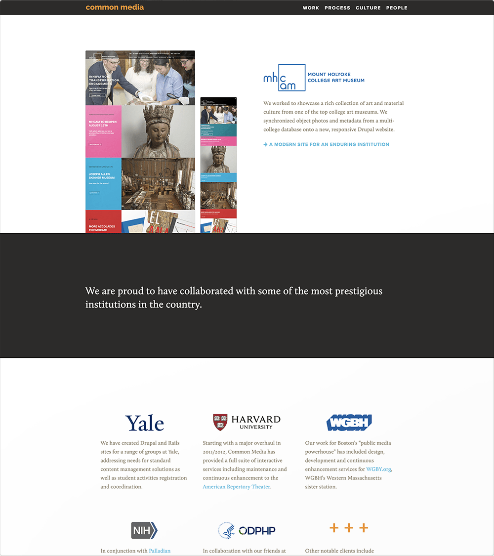 Common Media Site (Work Page)