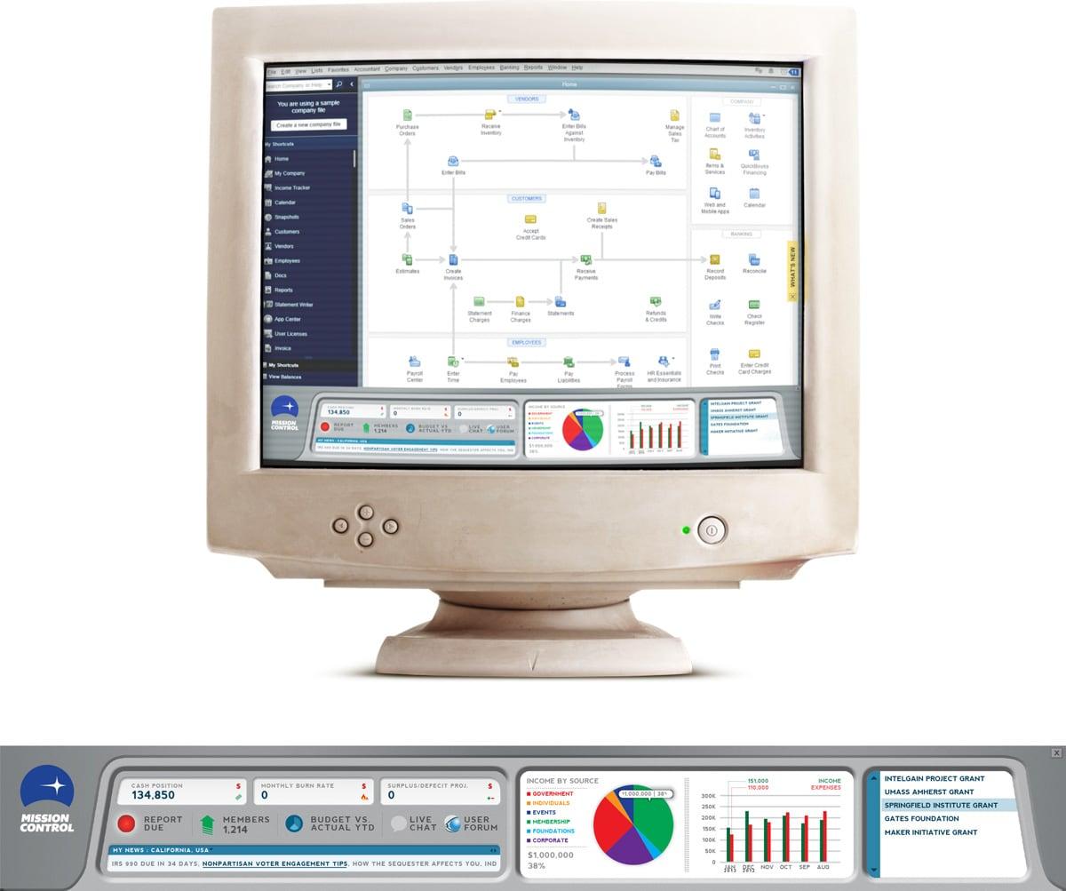 Mission Control User Interface Design