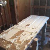 Turning it into a bedroom door (12/17)
