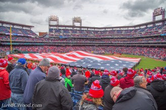 Flag on Opening Day