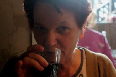 My mother at Camden Market