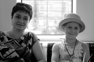 Kasia & Ania on District Line