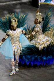 Samba performer