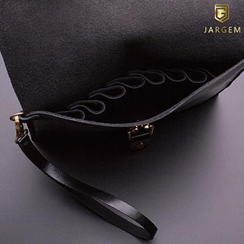 Prémium bőr olló és szerszámtartó táska – Jargem