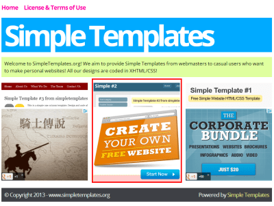 simpletemplates Wixs affiliate program first impressions review