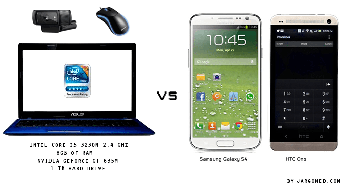 jargoned pic computer or smartphoe A better phone or a better laptop?