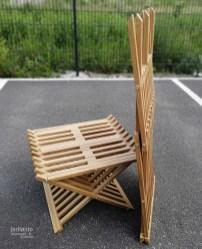 Kasaantaittuvat tuolit - Tammi