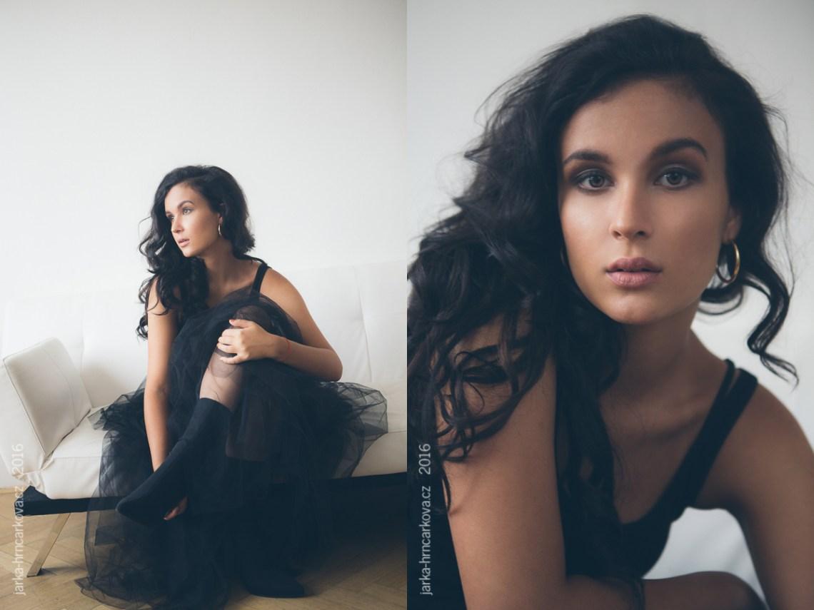 Černá sukně - fotografka Praha