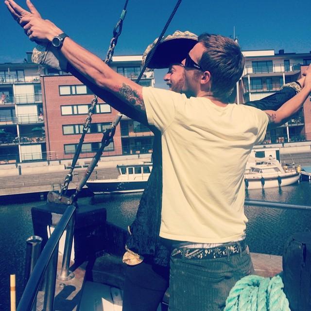 ombord på Titanic med sitt livs? Kärlek…