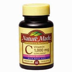 vitamin c supplement common cold