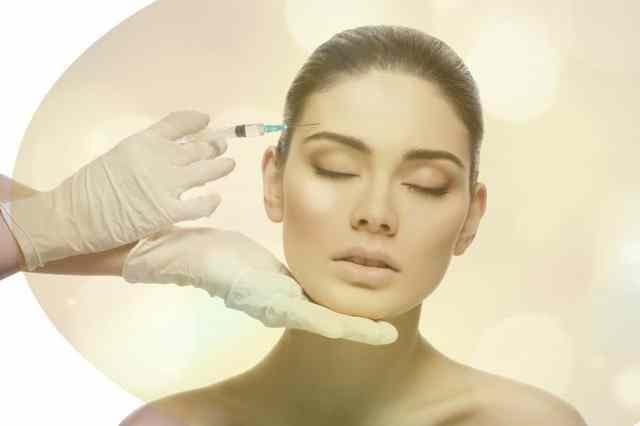 Botox Injection Woman