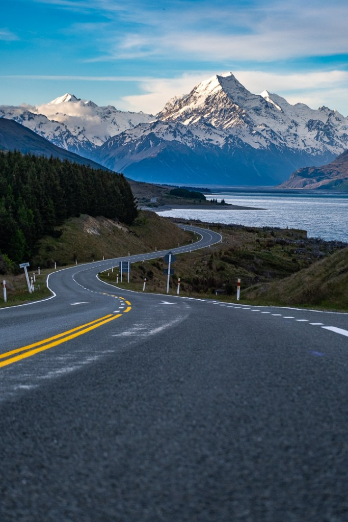 Fine Art Photography - Road to Mt Cook