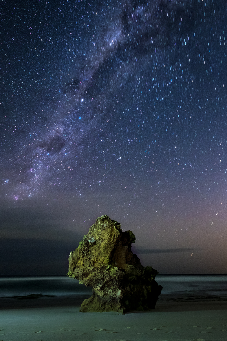 Fine Art Photography - Lizard Head Rock Under the Milkyway
