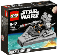 """MicroFighter"" Star Destroyer + Pilote impérial"