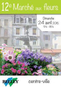 marchés aux fleurs belley 2016