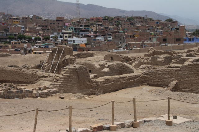 New homes beside ancient ruins