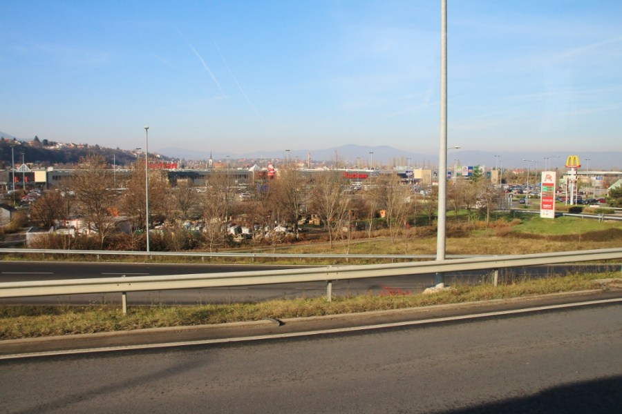 Northern suburb of Pest.