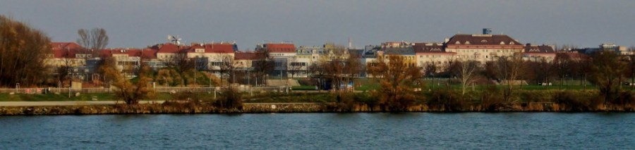 Residential part of Donau City