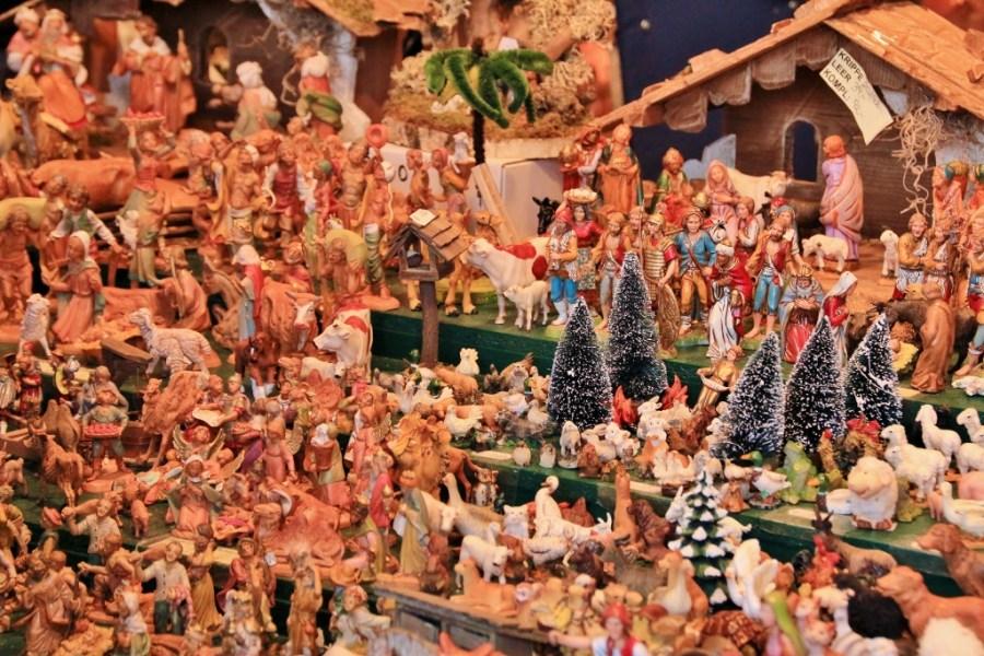 A Village of Carved Figures