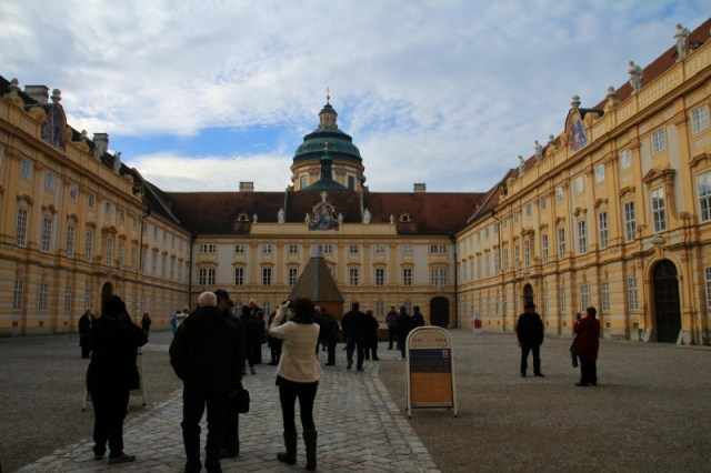 Melk Abbey Courtyard