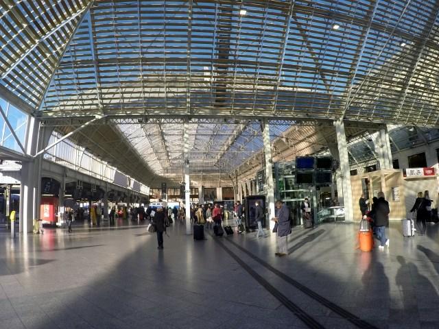 Paris Gare Lyon Train Station