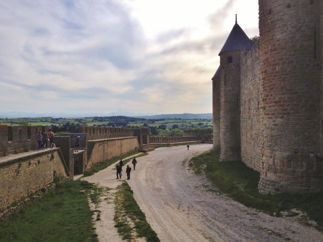 Within the ramparts of Carcassonne