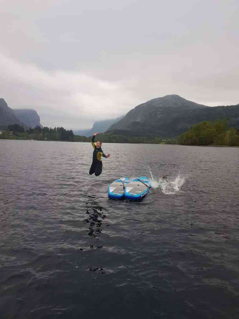 SUP in Norwegen mit JAS-TOURS.DE