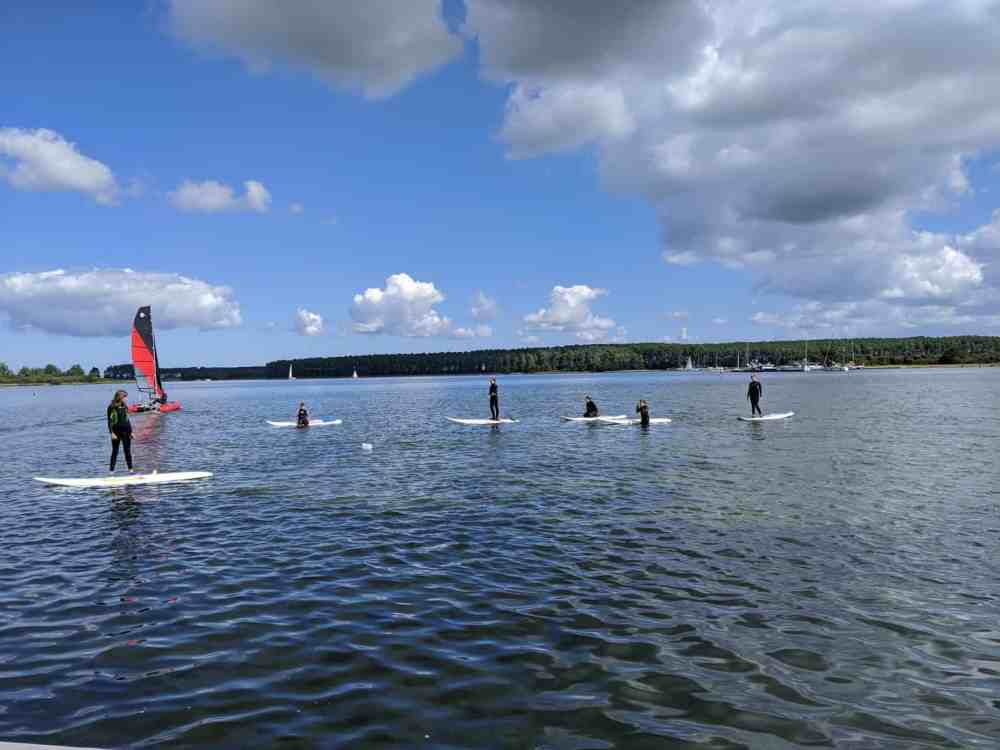 Windsurfkurs Kinder Holland