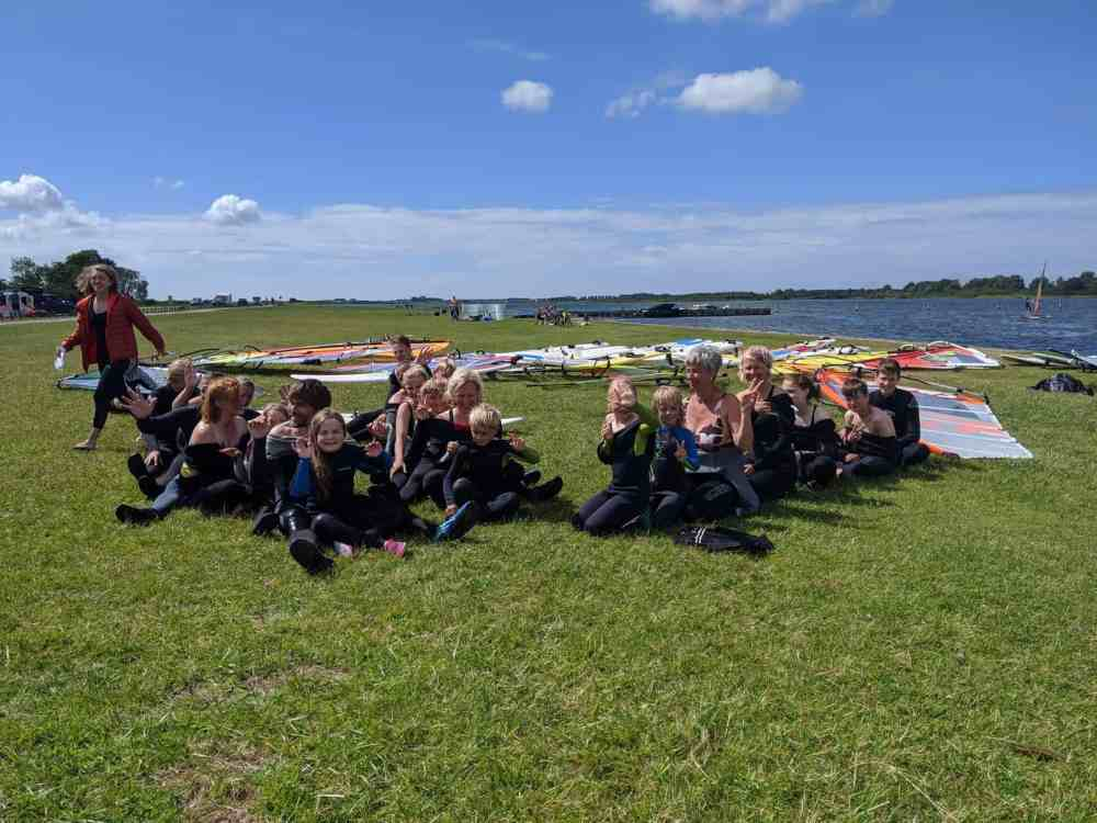 Familien Windsurfcamp Holland