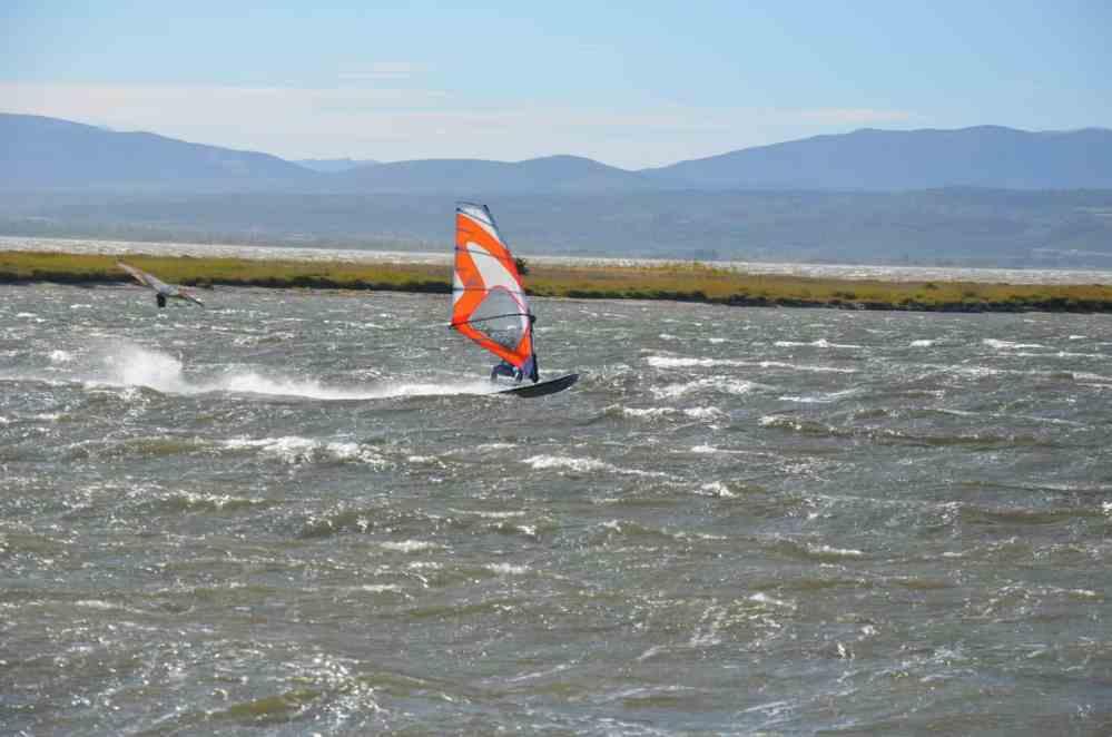 Windsurfen Südfrankreich - Leucate