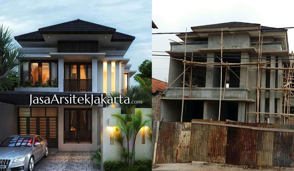 Rumah Minimalis Gaya Bali 2 Lantai Desain Rumah Minimalis