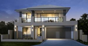 Desain Rumah Mewah Minimalis Modern 2 Lantai Jasa Arsitek Jogja