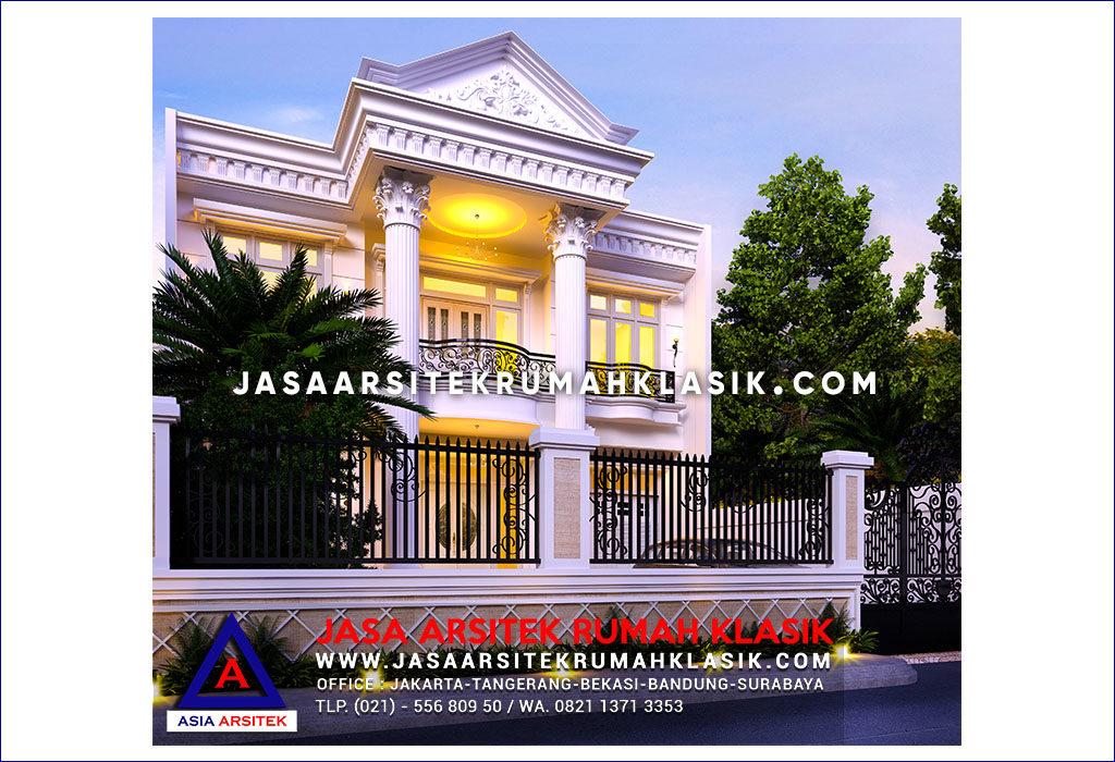 Jasa Arsitek Desain Rumah Klasik Mewah Di Yogyakarta