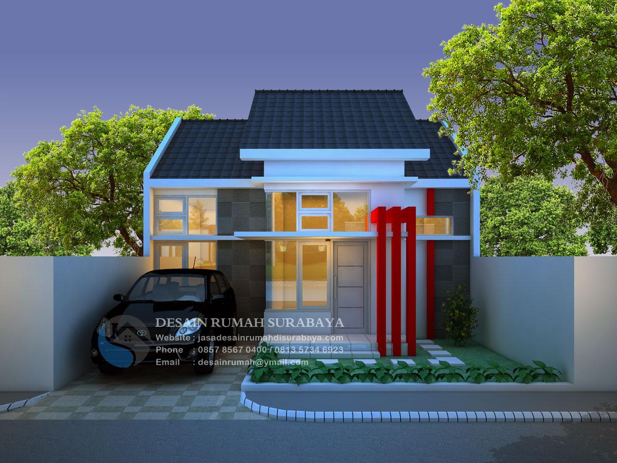 Jasa Desain Rumah Minimalis Modern 1 Lantai Di Surabaya Jasa