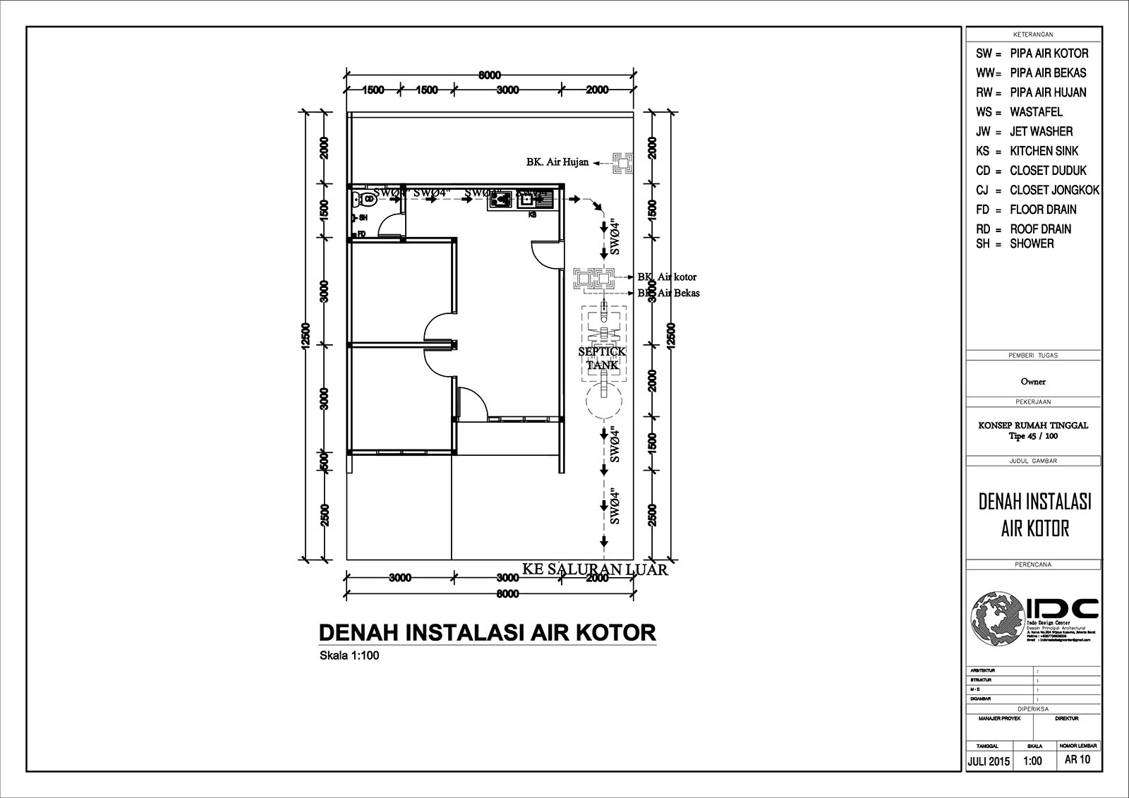 Downloads File AutoCAD Gambar di atas : KLIK DISINI