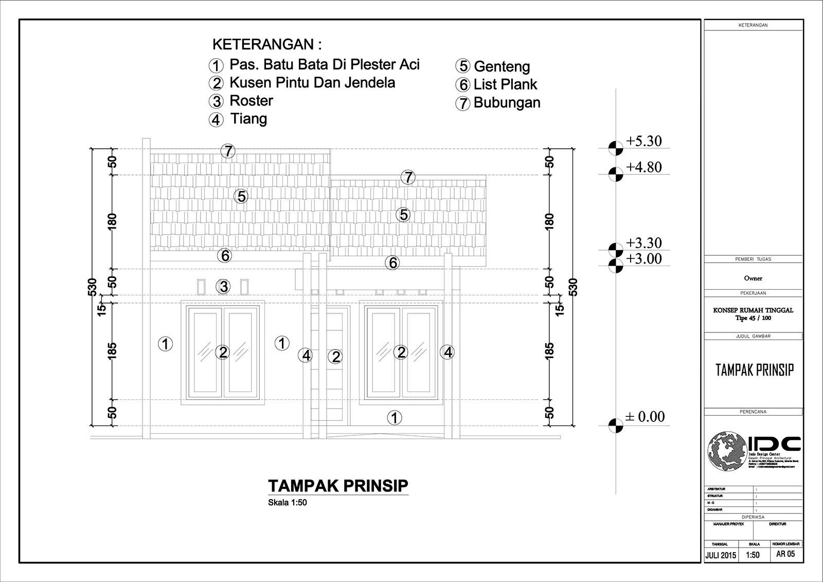 Download Denah Rumah Type 45 Dwg Arsip Jasa Desain Rumah Jakarta