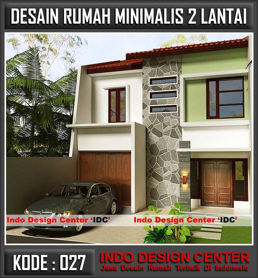 Model Rumah 2 Lantai Minimalis - Jasa Desain Rumah Jakarta