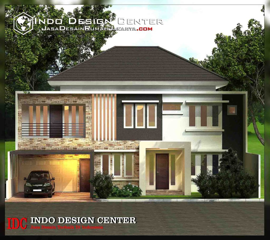 Desain Rumah 2 Lantai Pak Naufal