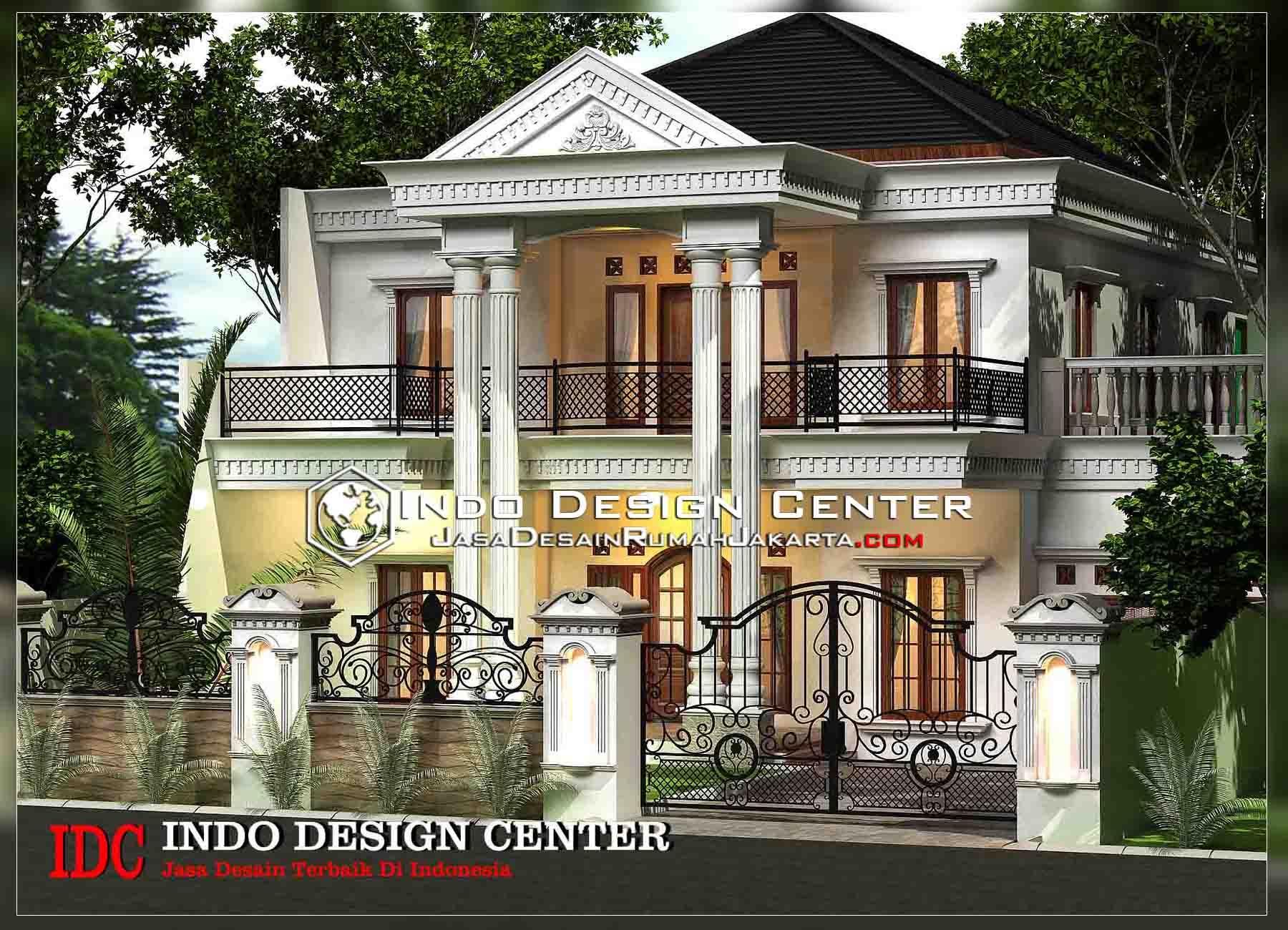 Desain Rumah Klasik Mediterania 2 Lantai Jasa Desain Rumah Jakarta