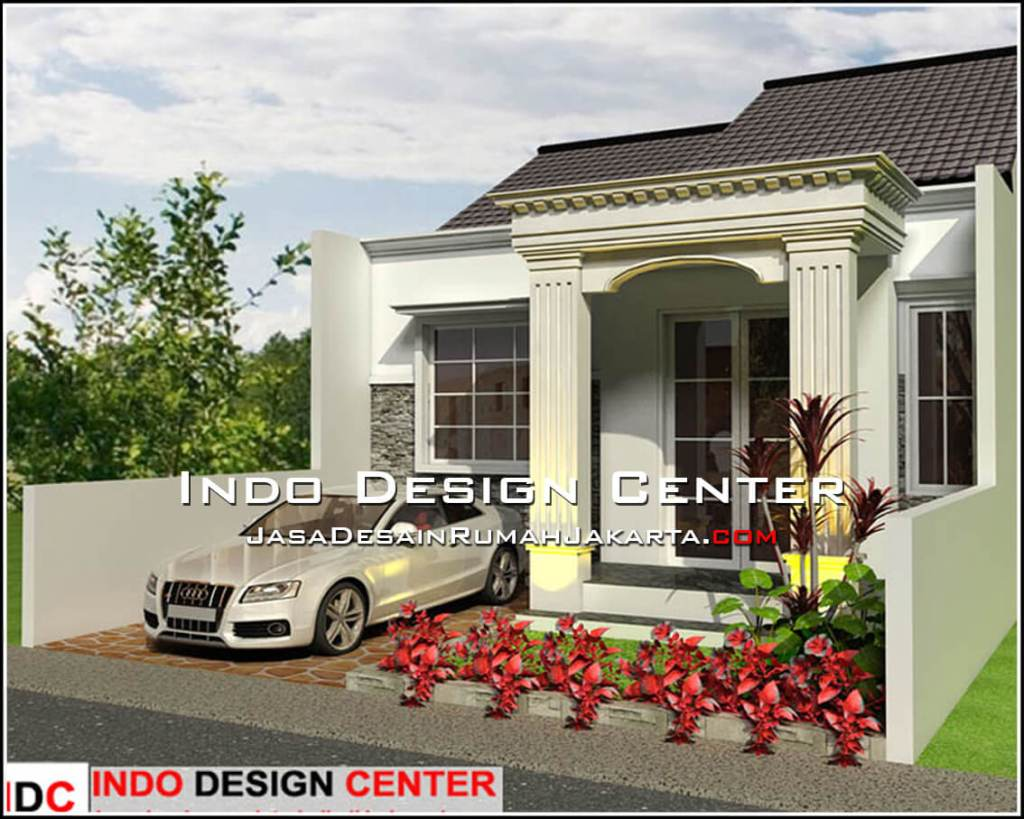 Rumah Minimalis 1 Lantai Lebar 7 Meter Desain Rumah Minimalis