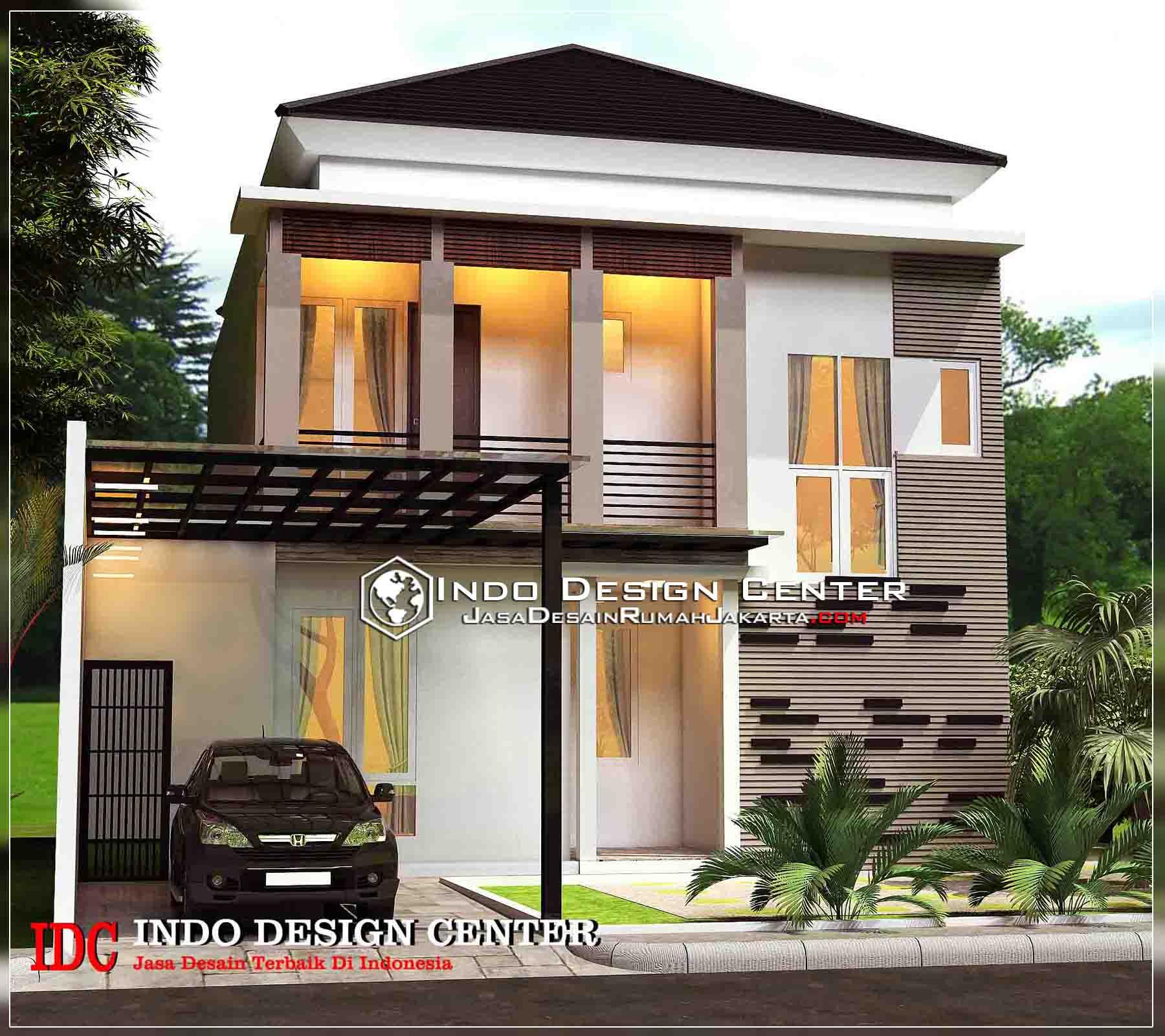 Rumah Minimalis Modern 2 Lantai Jasa Desain Rumah Jakarta