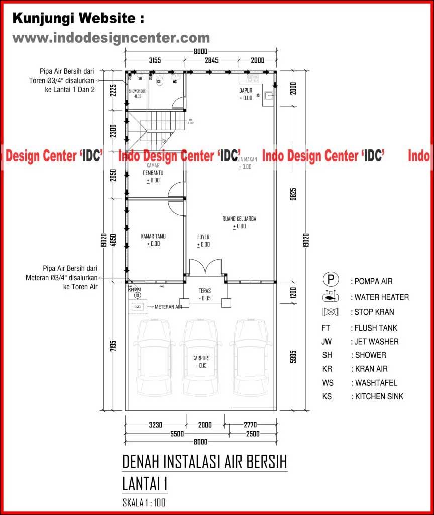 Bestek Rumah Type 45 Arsip Page 3 Of 4 Jasa Desain Rumah