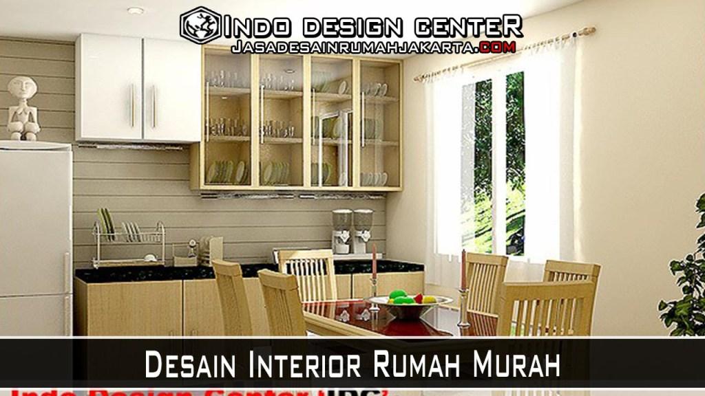 Desain Interior Rumah Murah
