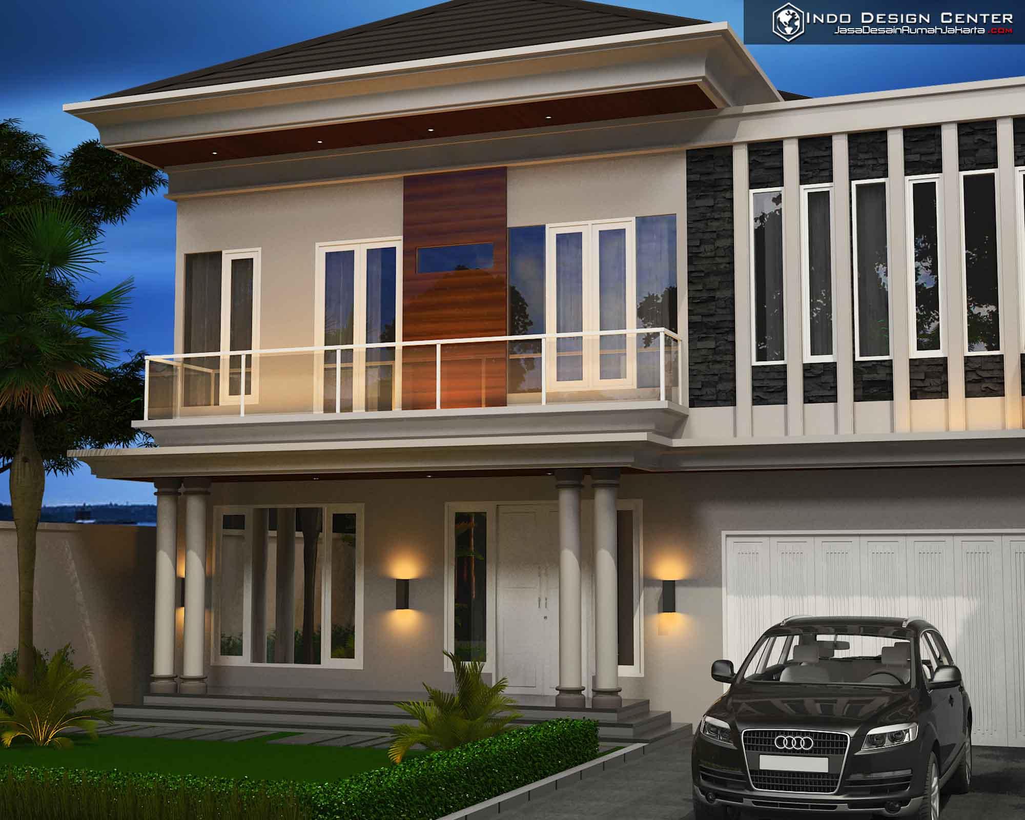 Gambar Rumah Modern Minimalis 2 Lantai Jasa Desain Rumah Jakarta