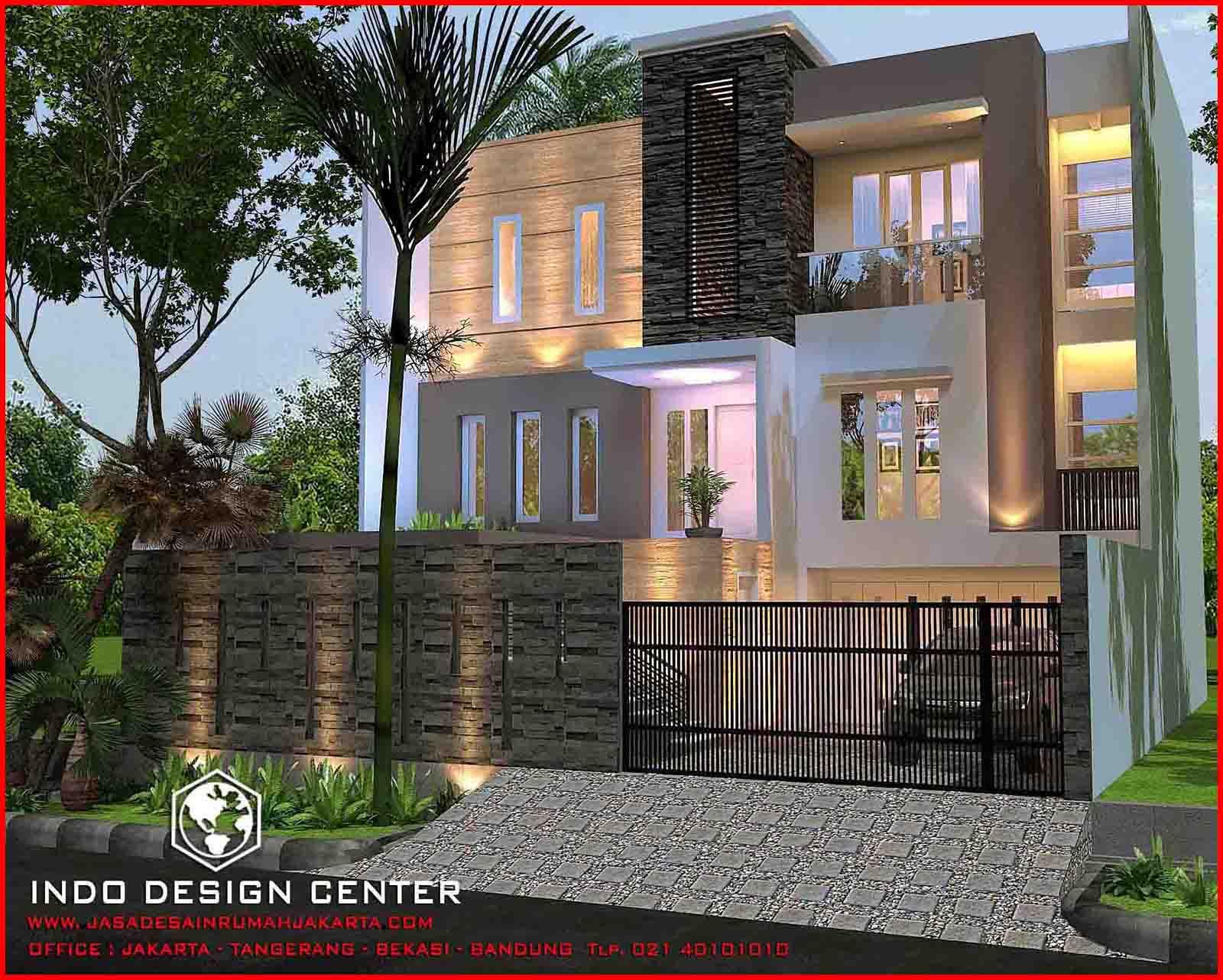 Gambar Rumah Minimalis 3 Lantai Pak Indra Jasa Desain Rumah Jakarta