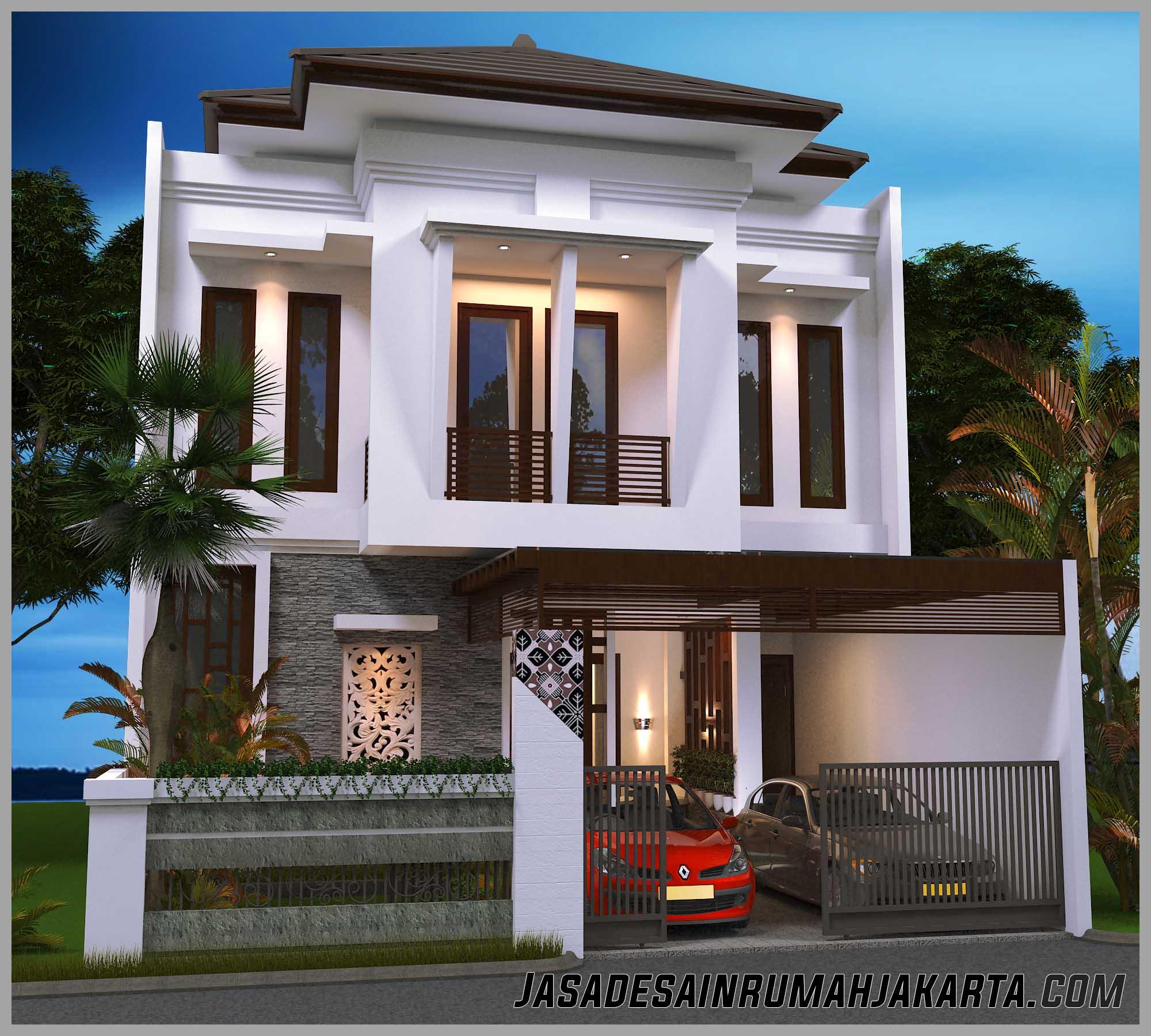 Jasa Desain Rumah Mewah: Gambar Rumah Berkonsep Bali Architect, Jasa Desain Rumah