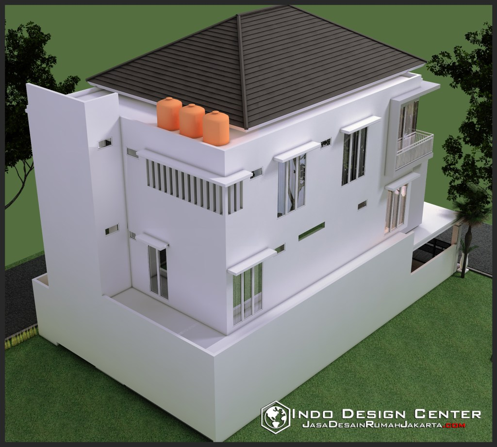 Gambar Rumah Minimalis Bapak Sapuan