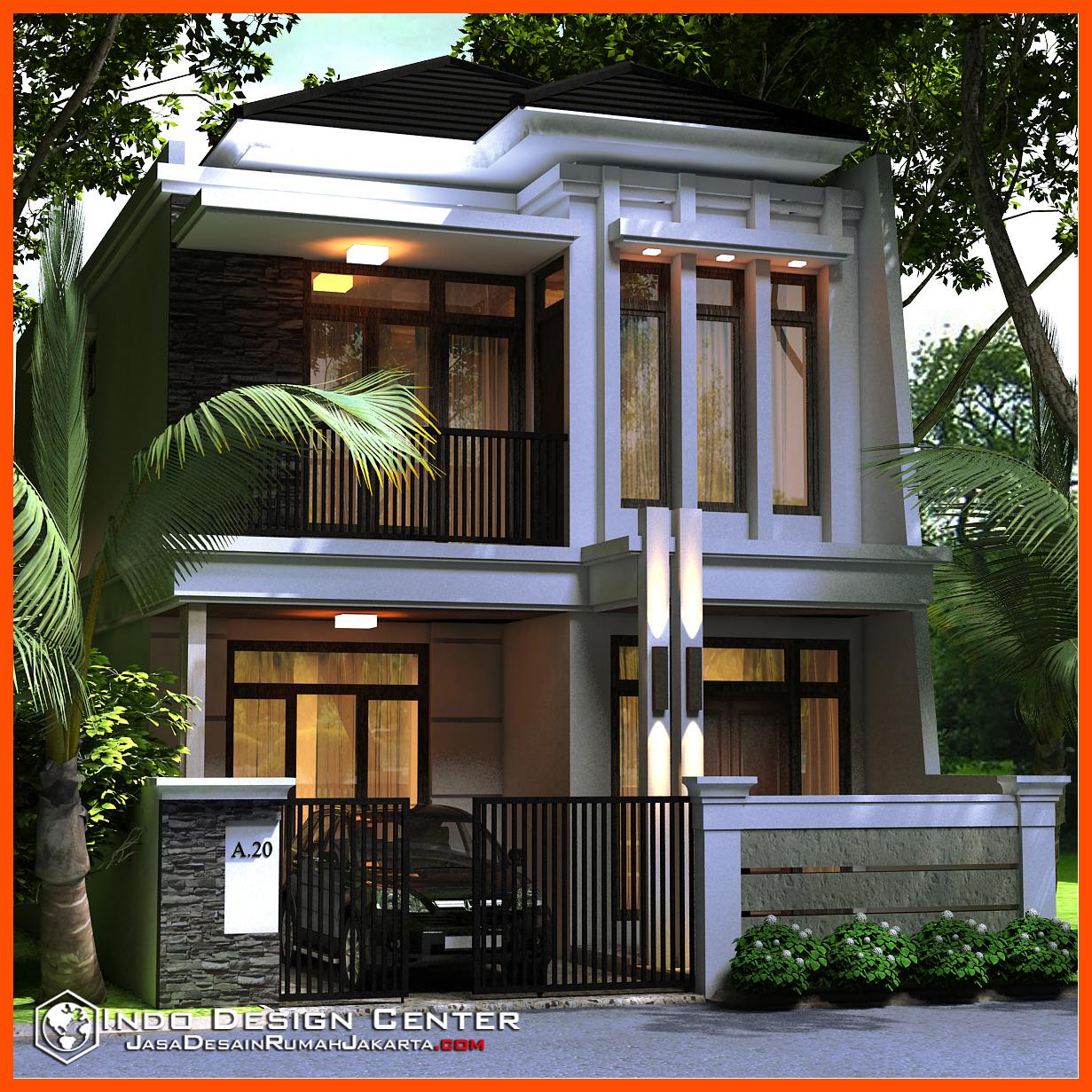 12 Desain Rumah Minimalis Modern 2 Lantai Mewah: Gambar Rumah Minimalis Di Jakarta, Jasa Desain Rumah